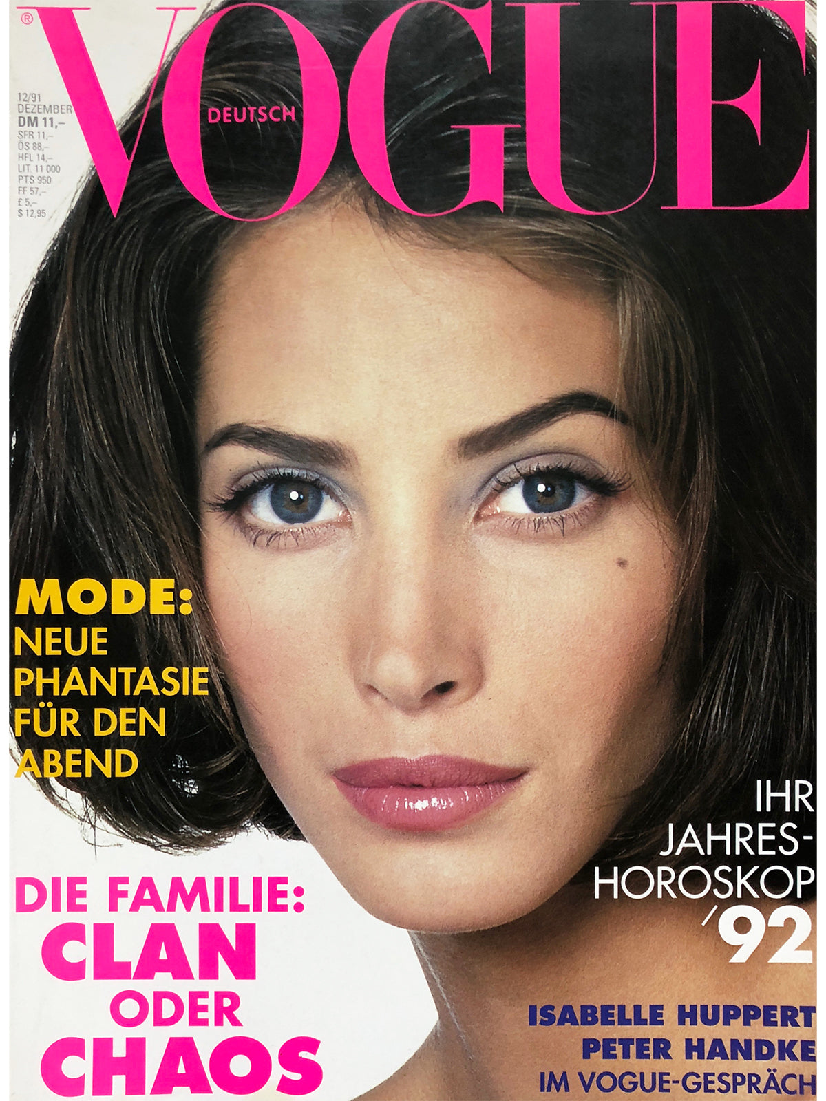 Archived - VOGUE Germany December 1991