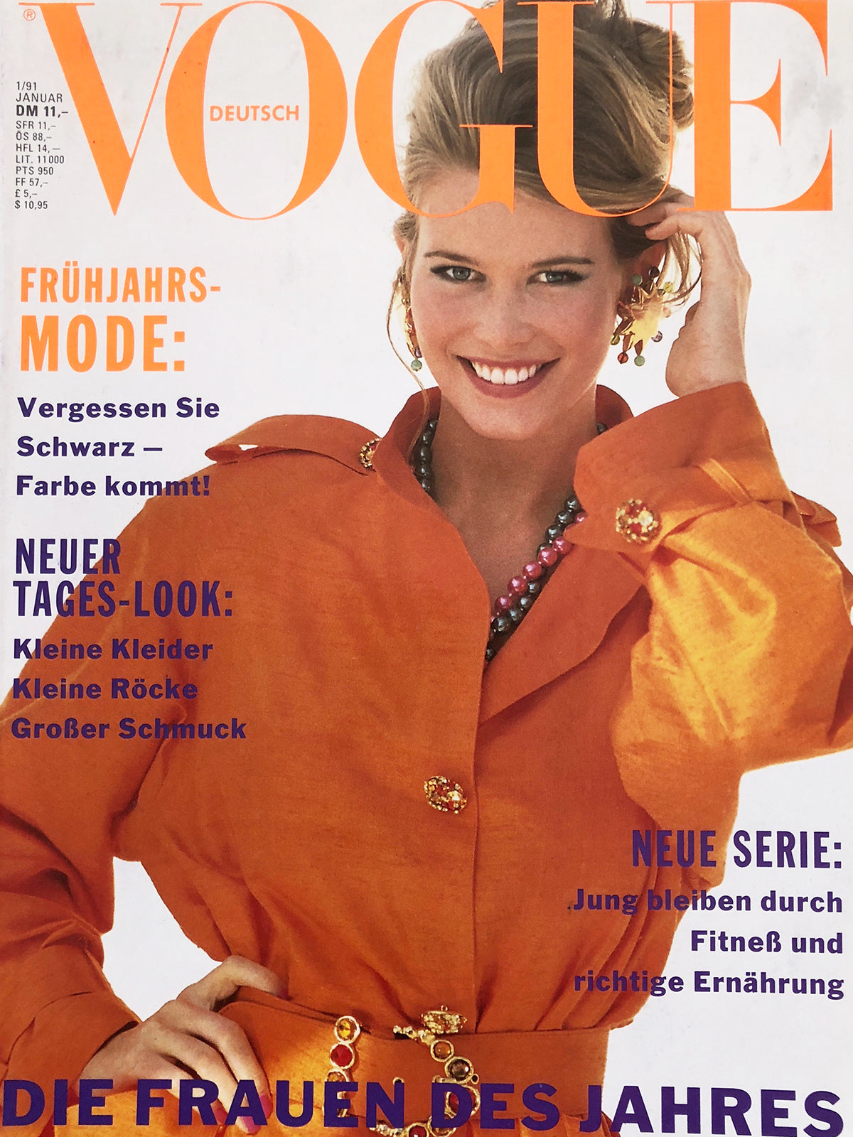 Archived - VOGUE Germany January 1991