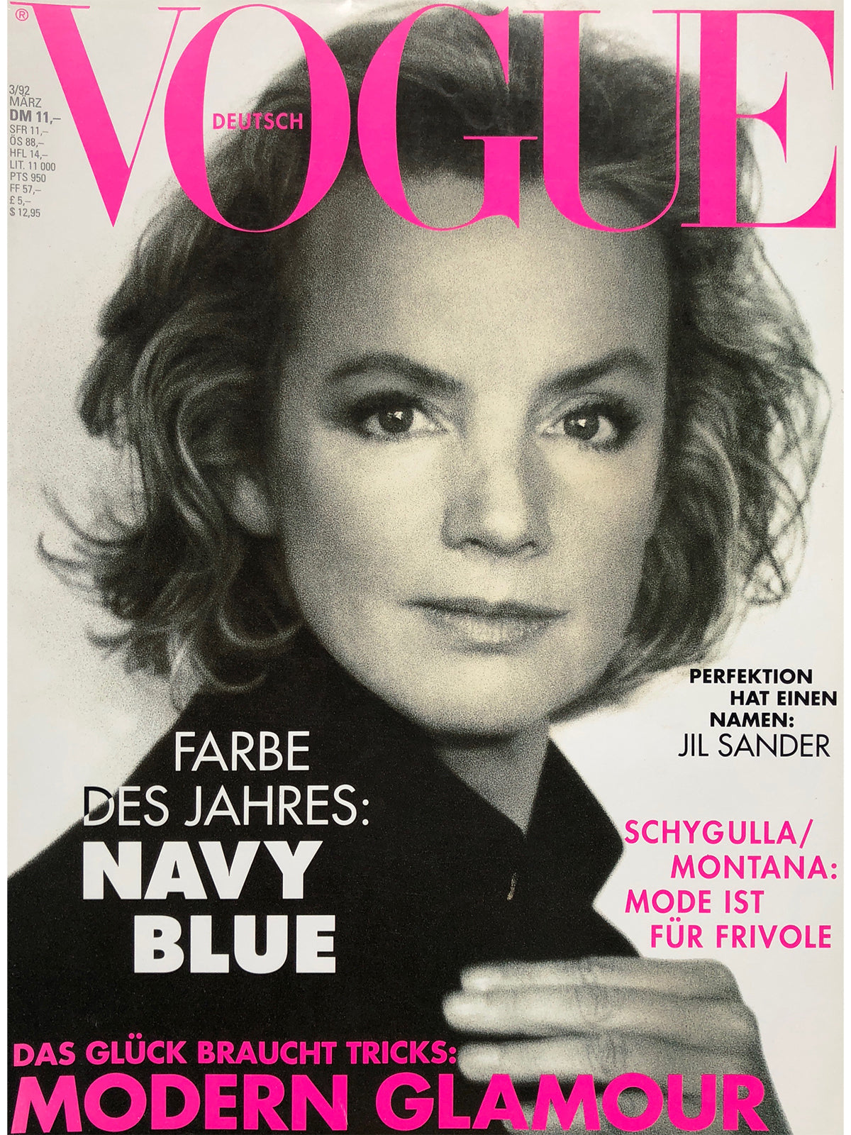 Archived - VOGUE Germany March 1992