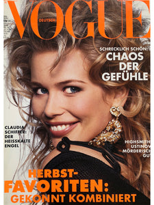 Archived --- VOGUE Germany September 1992