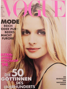 Archived - VOGUE Germany December 1993