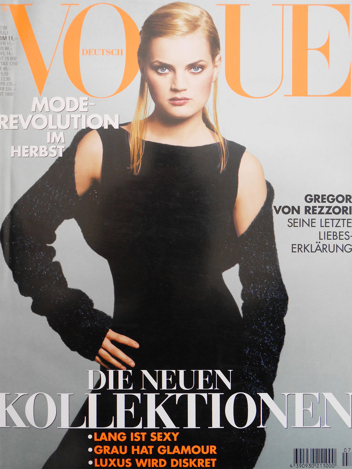 Archived - VOGUE Germany July 1998