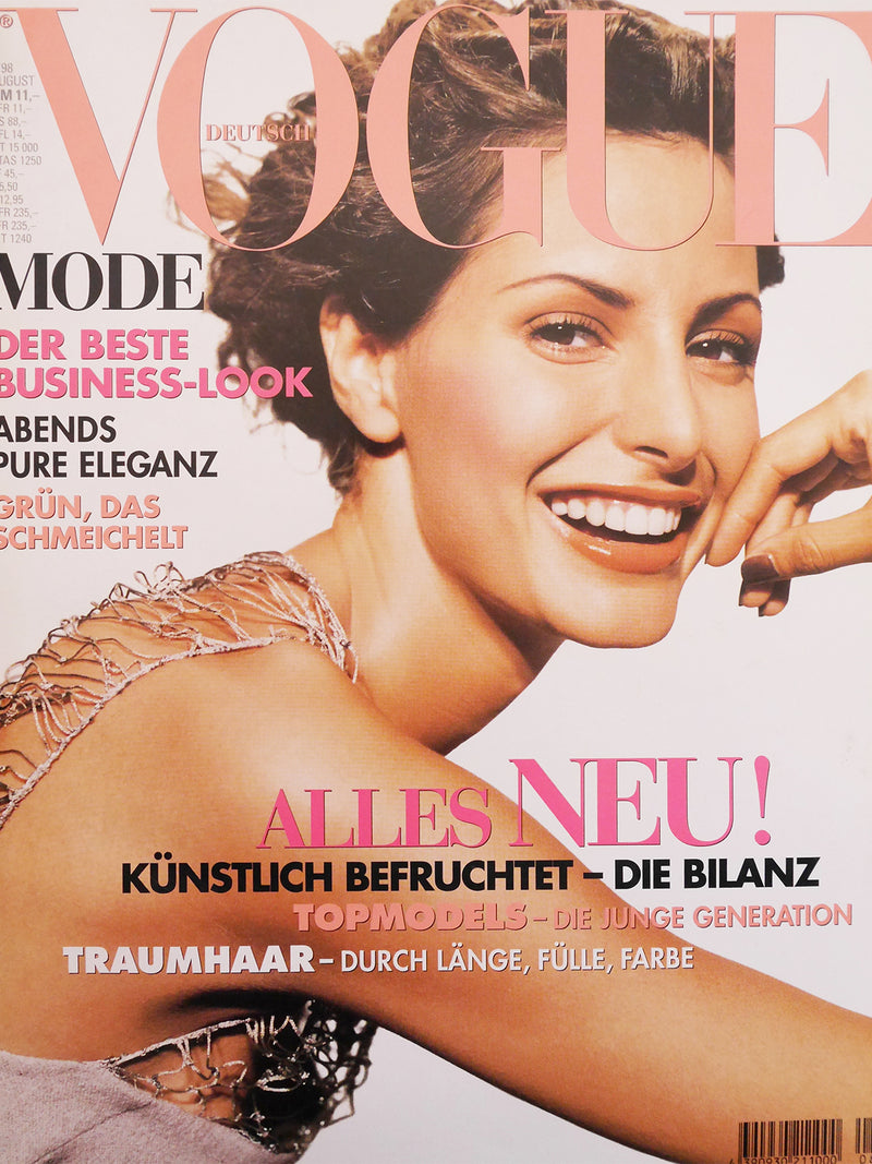 Archived - VOGUE Germany August 1998