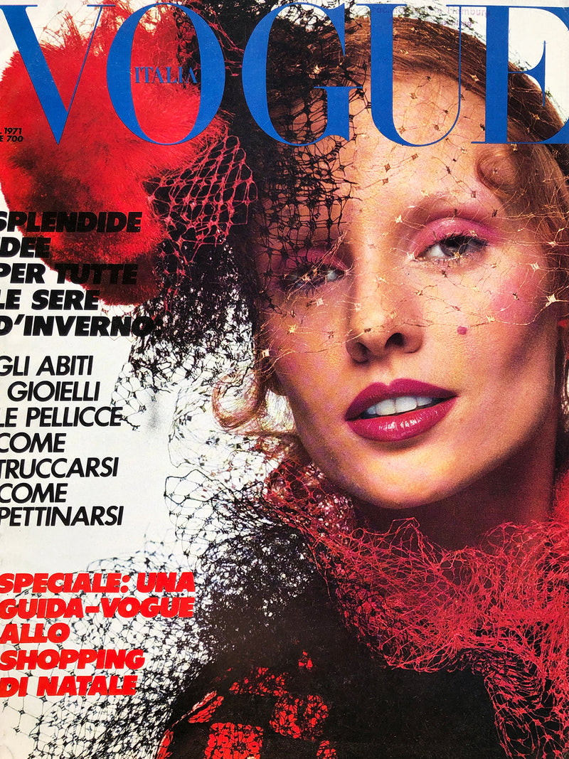 Archived - Vogue Italia December 1971