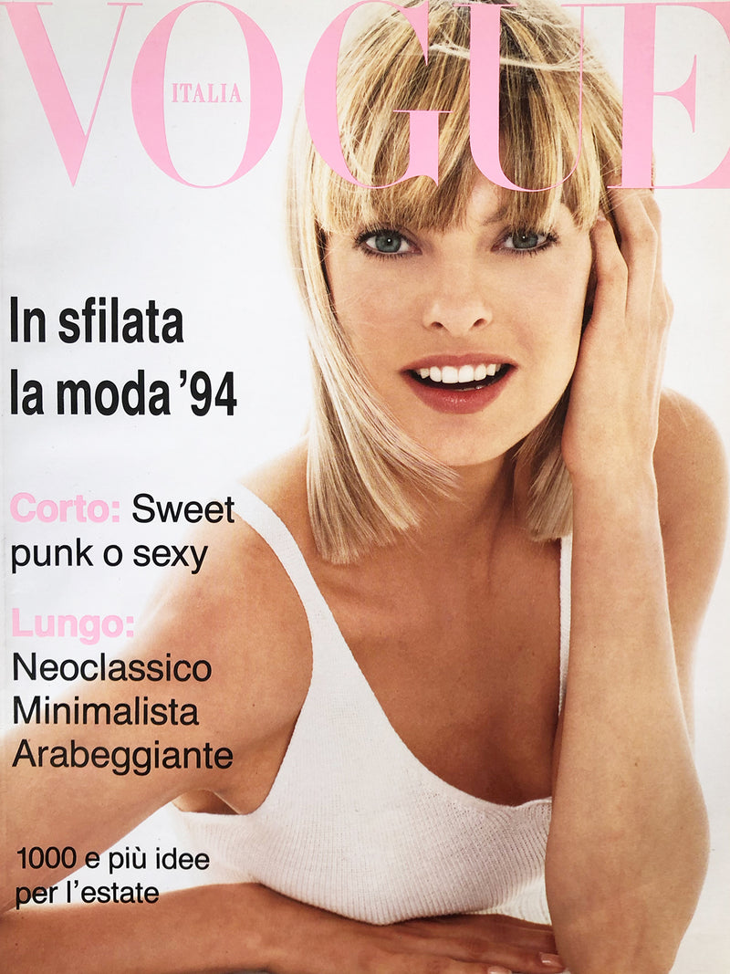 Archived - Vogue Italia January 1994 Supplemento