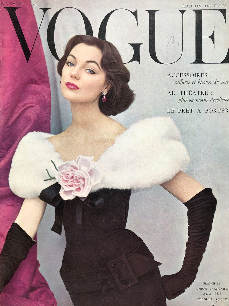 Archived - VOGUE Paris November 1953