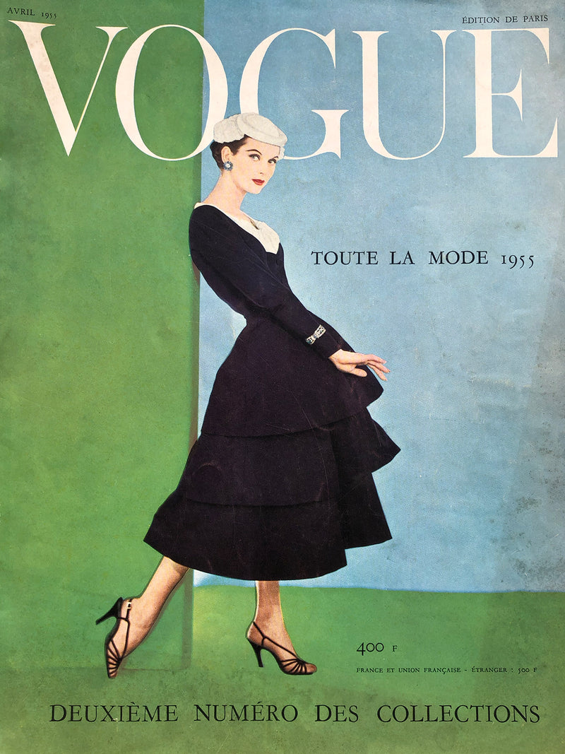Archived - VOGUE Paris April 1955