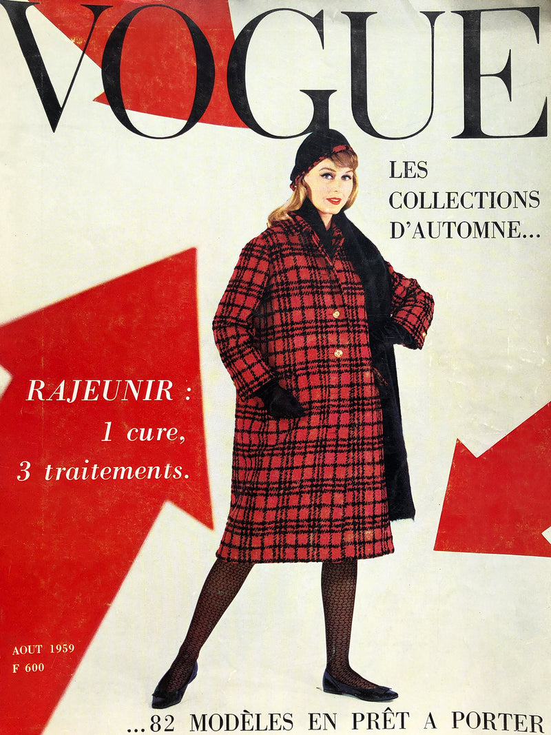 Archived - VOGUE Paris August 1959