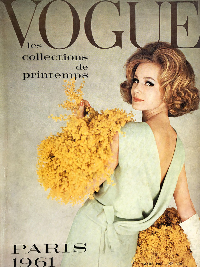 Archived - VOGUE Paris March 1961