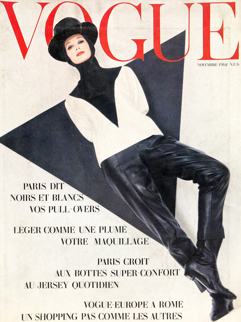 Archived - VOGUE Paris November 1962