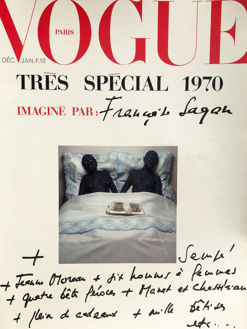Archived - VOGUE Paris December 1969/January 1970