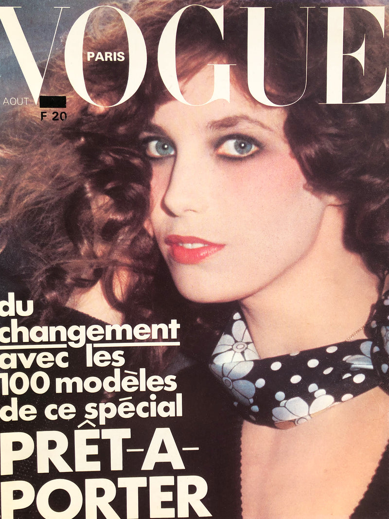 Archived - VOGUE Paris August 1974