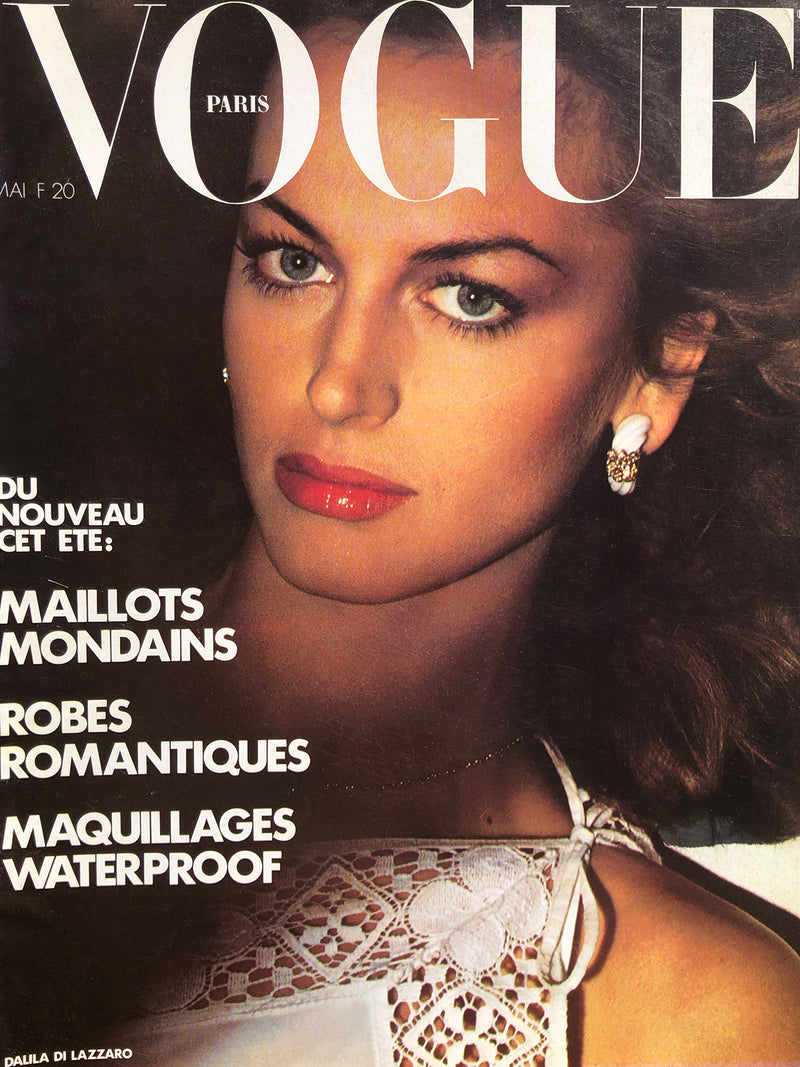 Archived - VOGUE Paris May 1977
