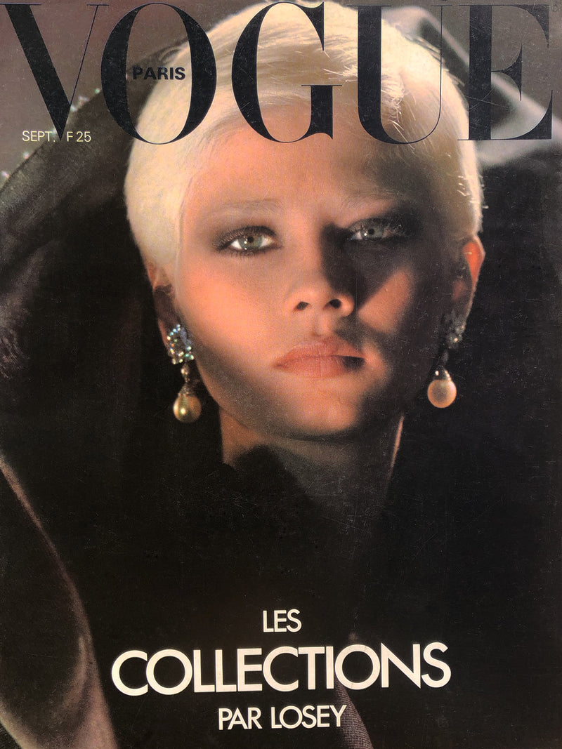 Sold - VOGUE Paris September 1977