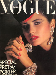 Sold - VOGUE Paris August 1978