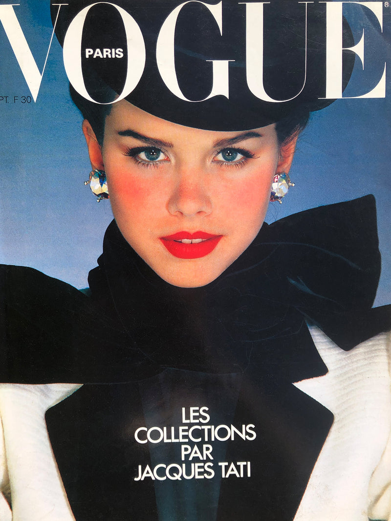 Archived - VOGUE Paris September 1979