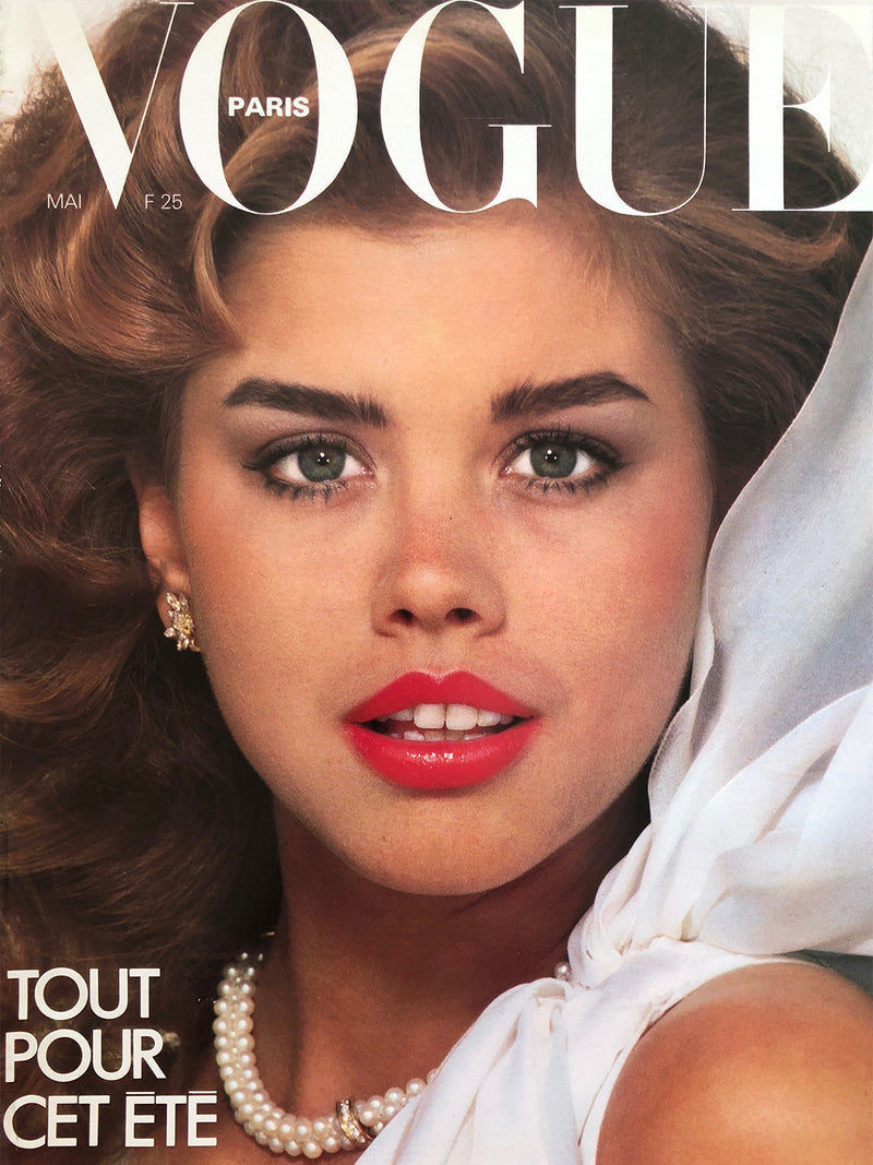 Sold - VOGUE Paris May 1980