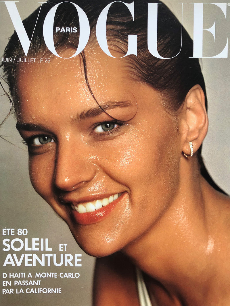 Archived - VOGUE Paris June/July 1980