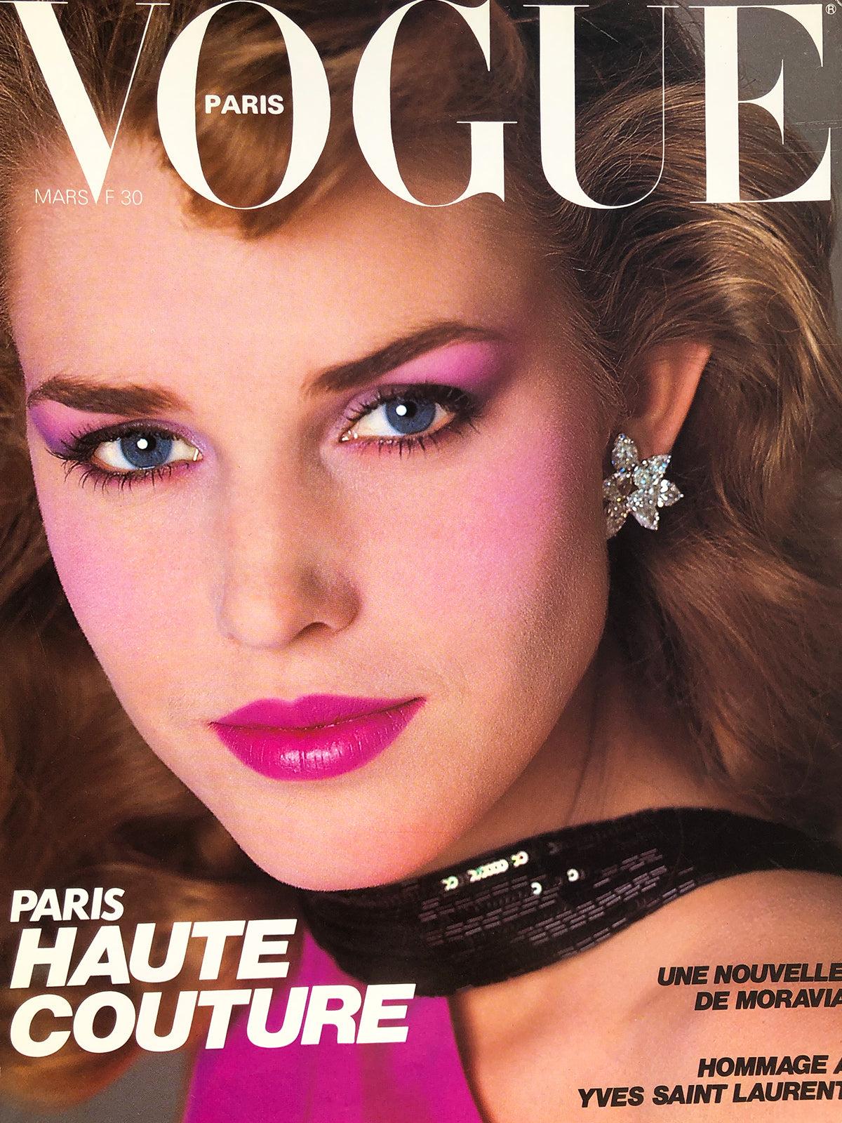 Archived - VOGUE Paris March 1982