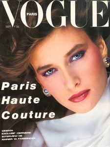 Archived - VOGUE Paris September 1982