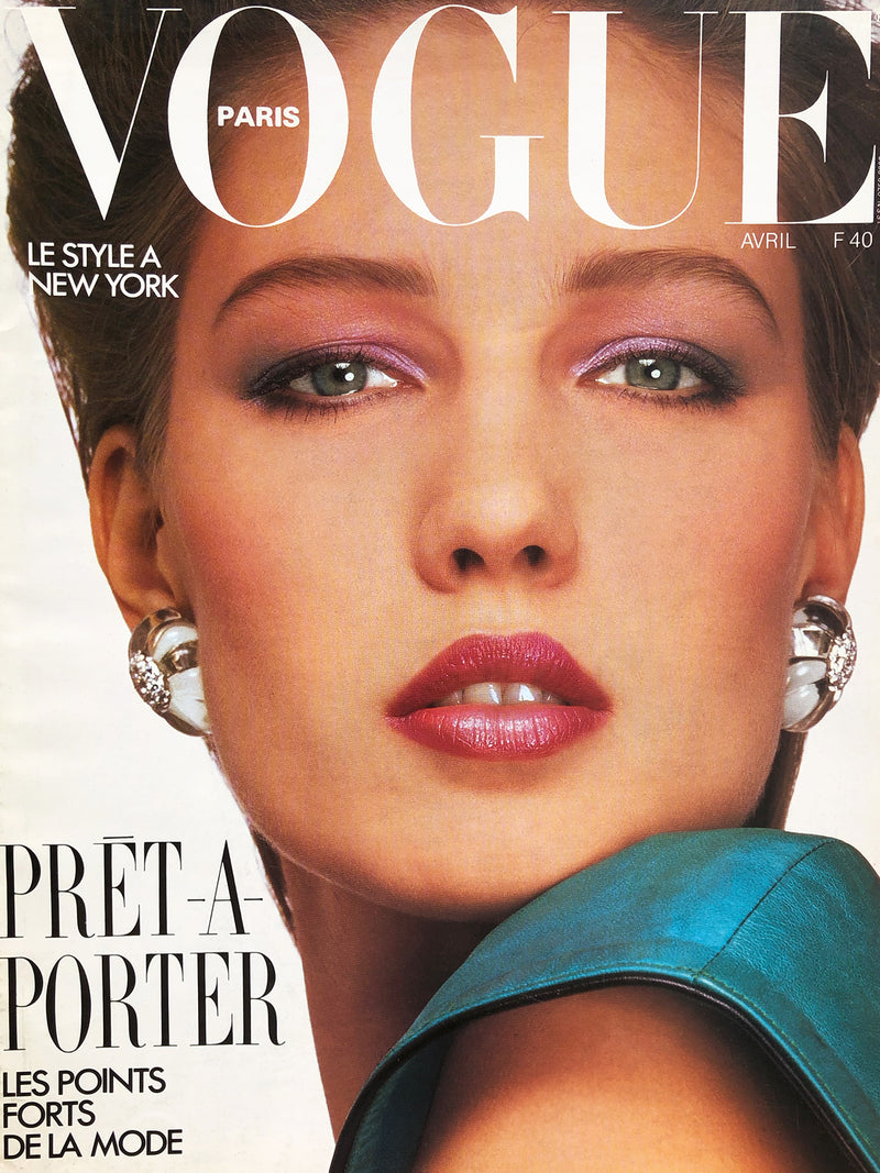 Archived - VOGUE Paris April 1985