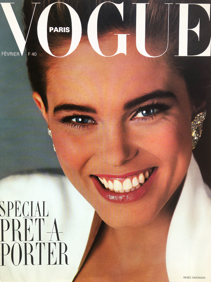 Archived - VOGUE Paris February 1986