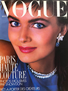 Archived - VOGUE Paris March 1986