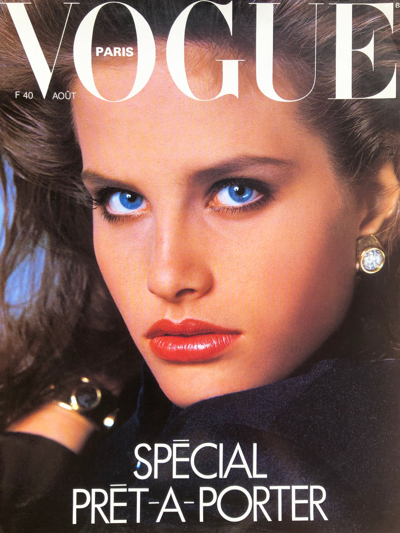 VOGUE Paris August 1986