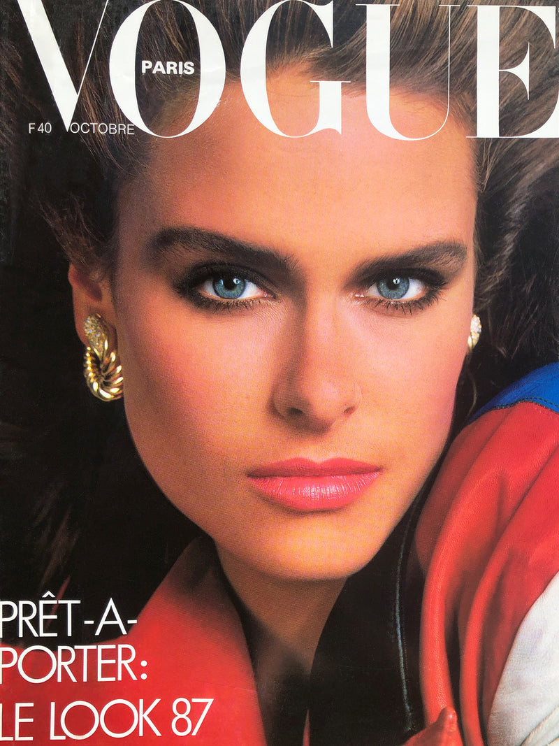 Archived - VOGUE Paris October 1986