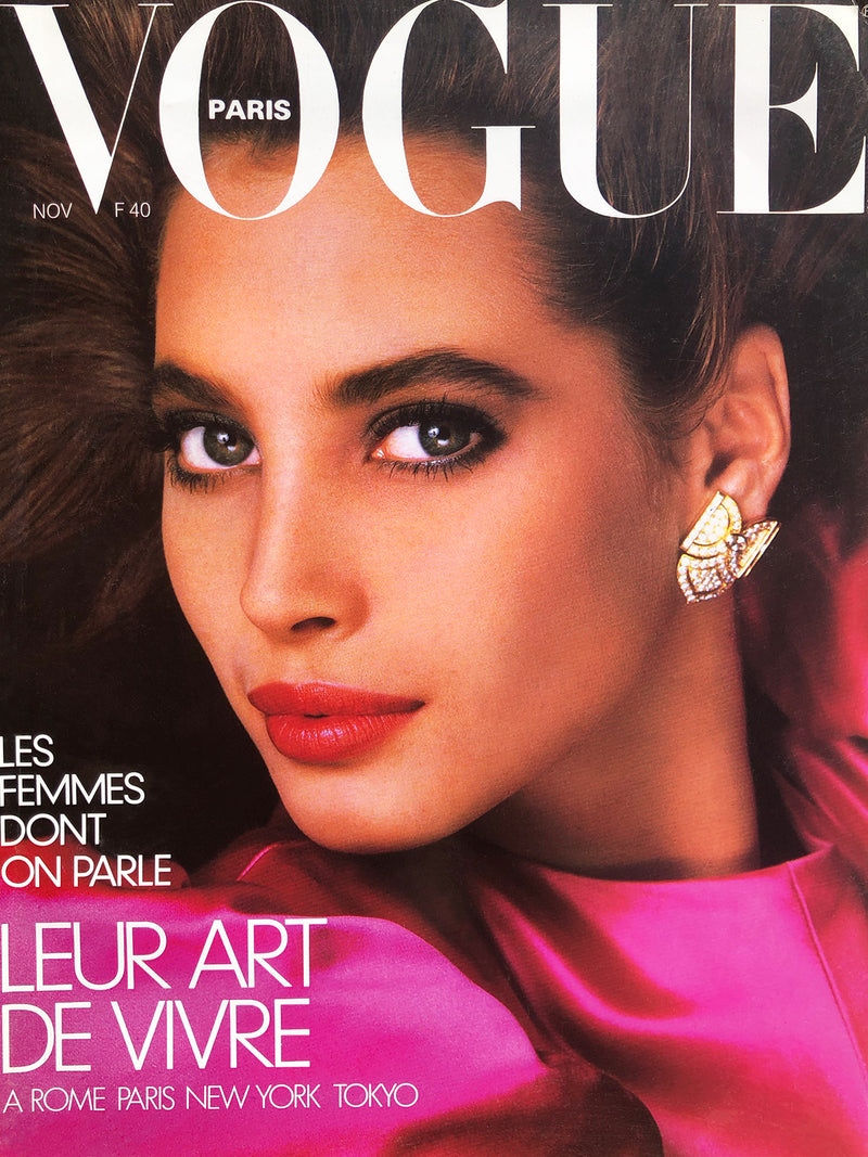 Archived - VOGUE Paris November 1986