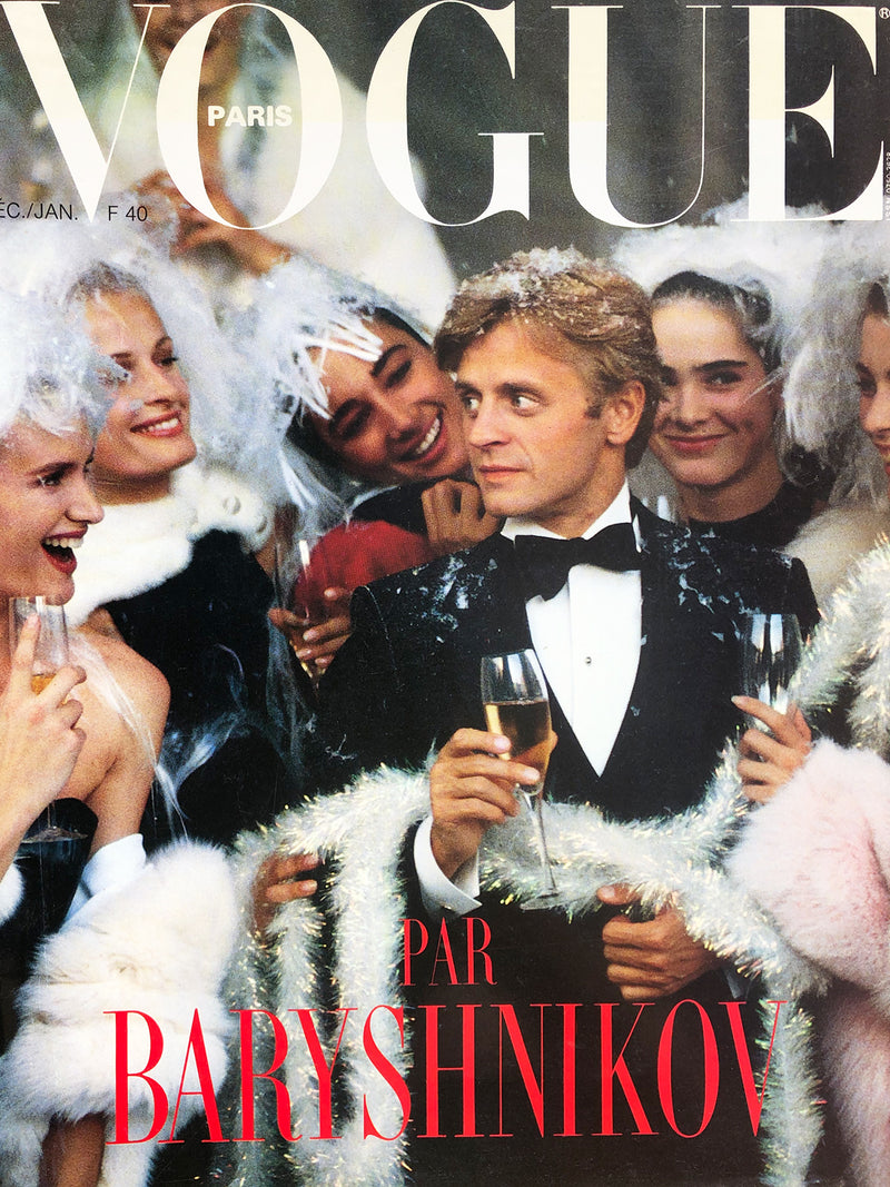 Archived - VOGUE Paris December 1986/January 1987