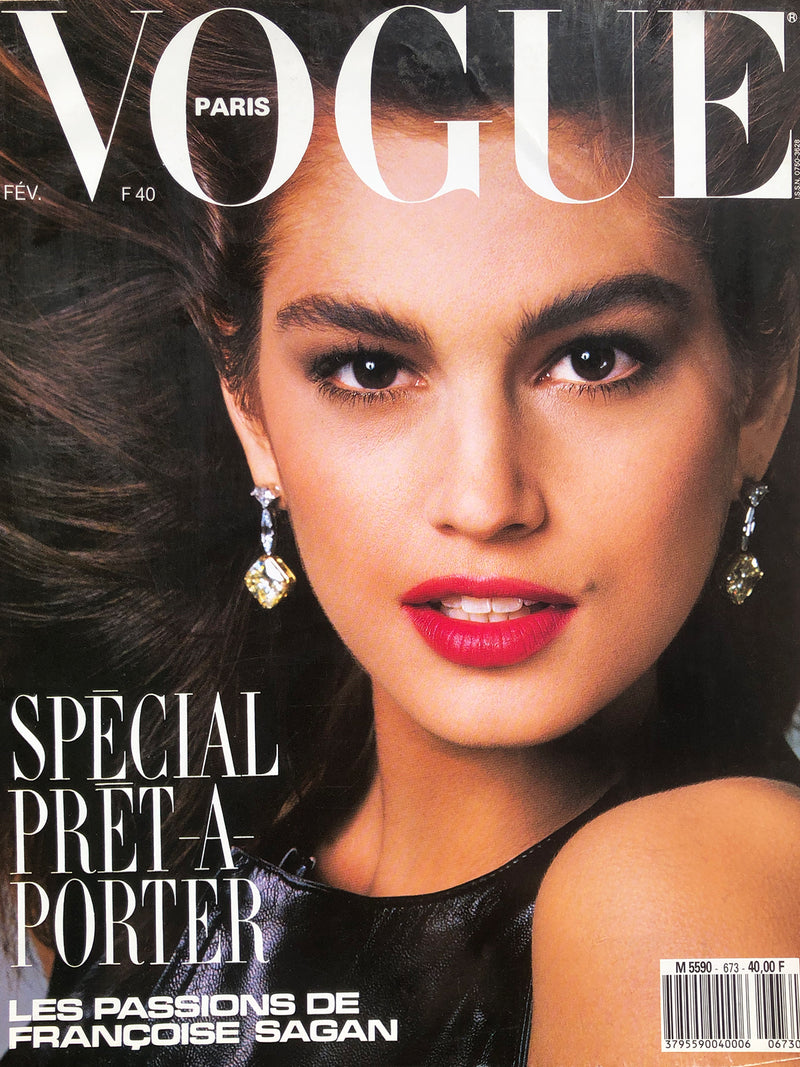 Archived - VOGUE Paris February 1987