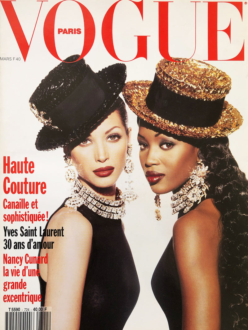 Archived - VOGUE Paris March 1992