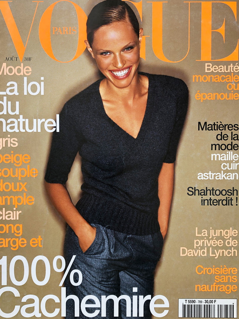 Archived - VOGUE Paris August 1998