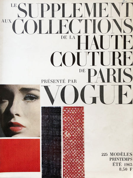 Archived - Vogue Collections Haute Couture Paris Spring/Summer 1963