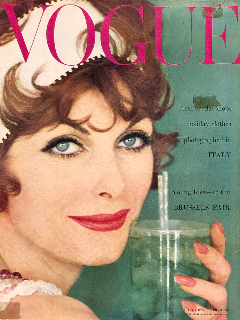 Archived - Vogue UK July 1958