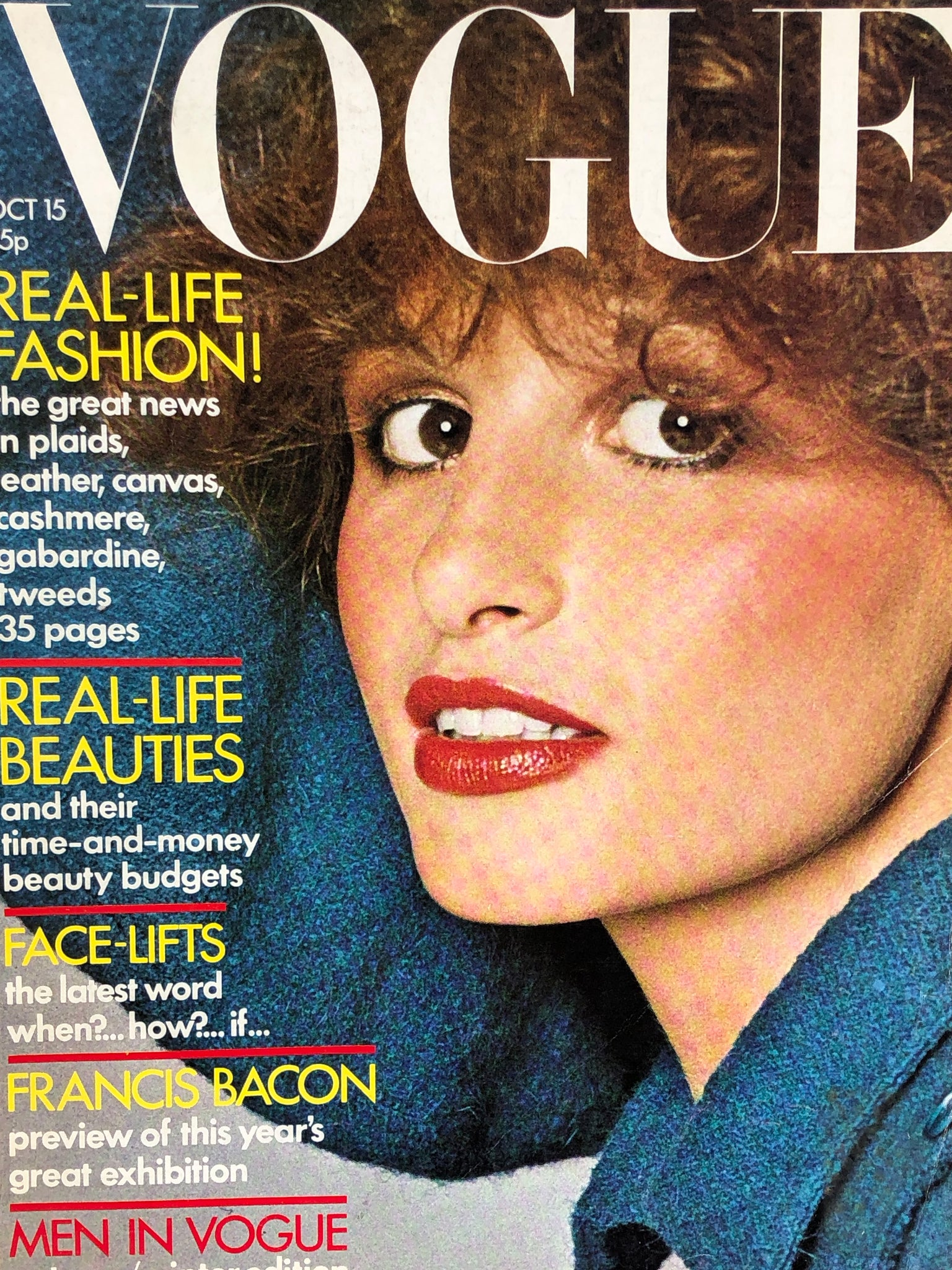 Archived - Vogue UK October 15th 1971