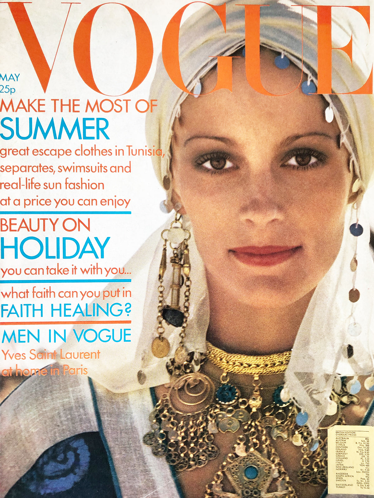 Archived - Vogue UK May 1972