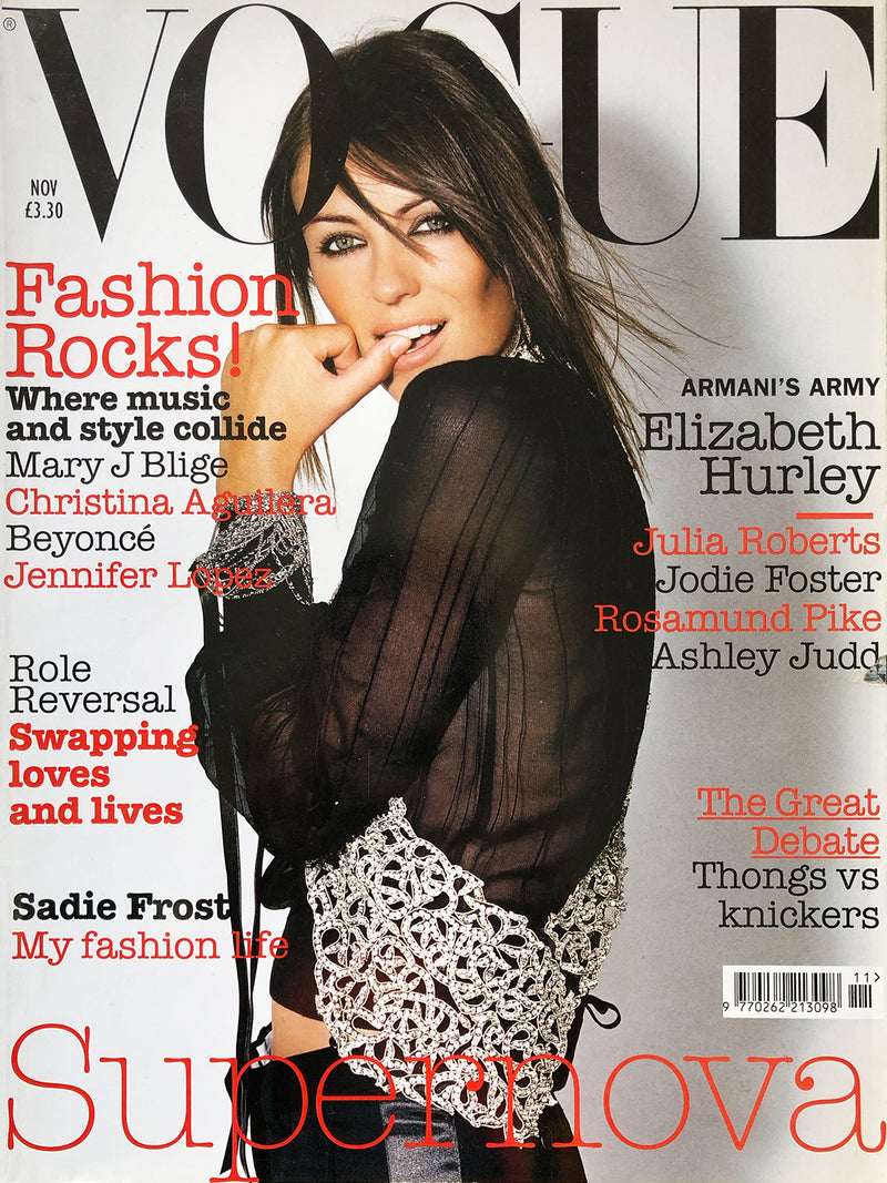 Archived - Vogue UK November 2003