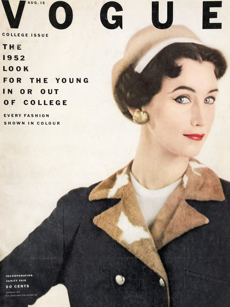 Archived - Vogue US August 15th 1952