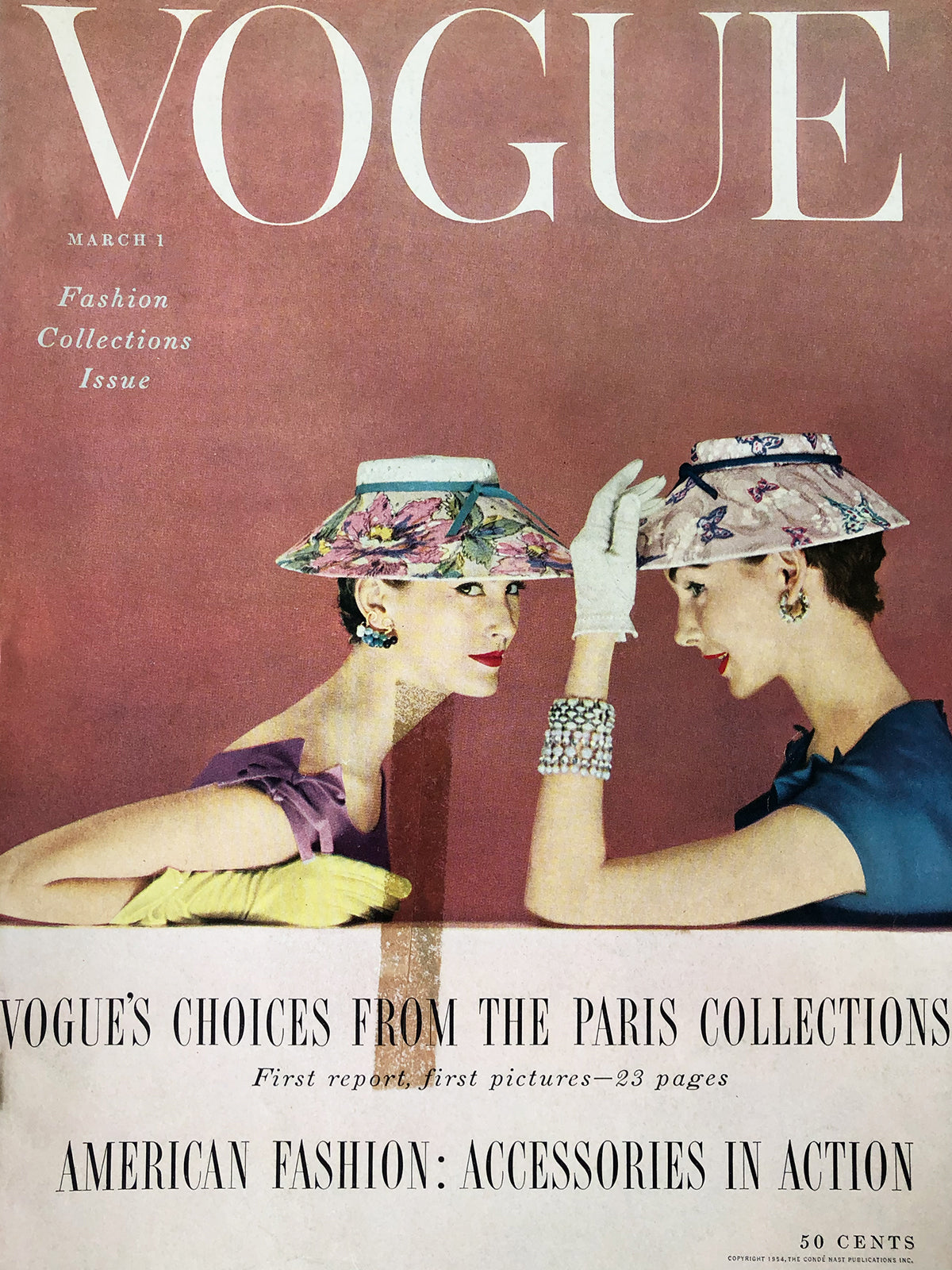 Archived - Vogue US March 1st 1954