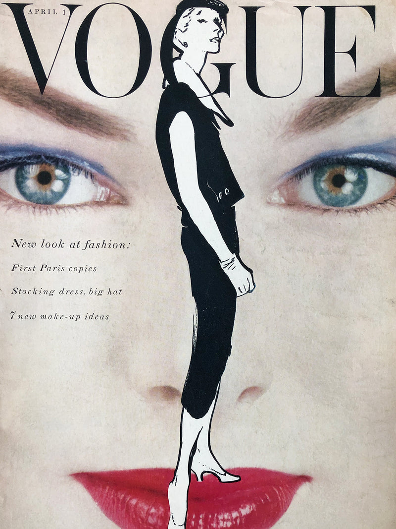 Sold - Vogue US April 1st 1954