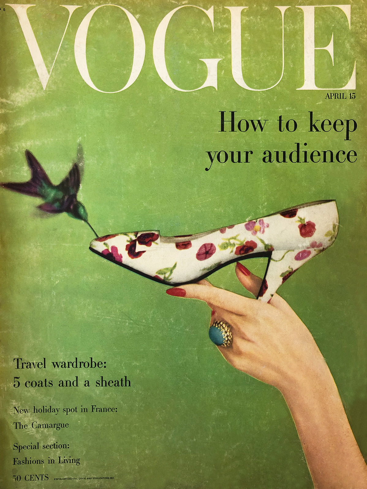 Archived - Vogue US April 15th 1957