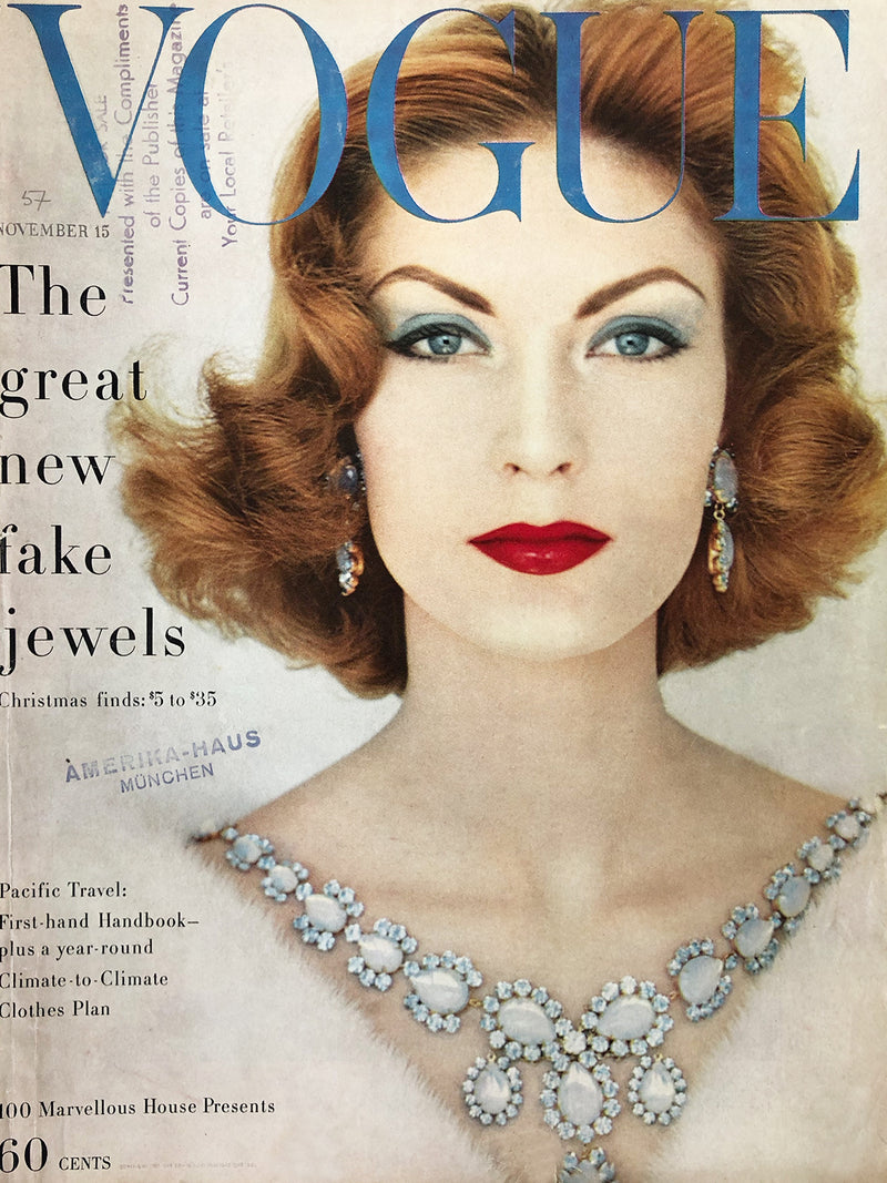 Archived - Vogue US November 15th 1957