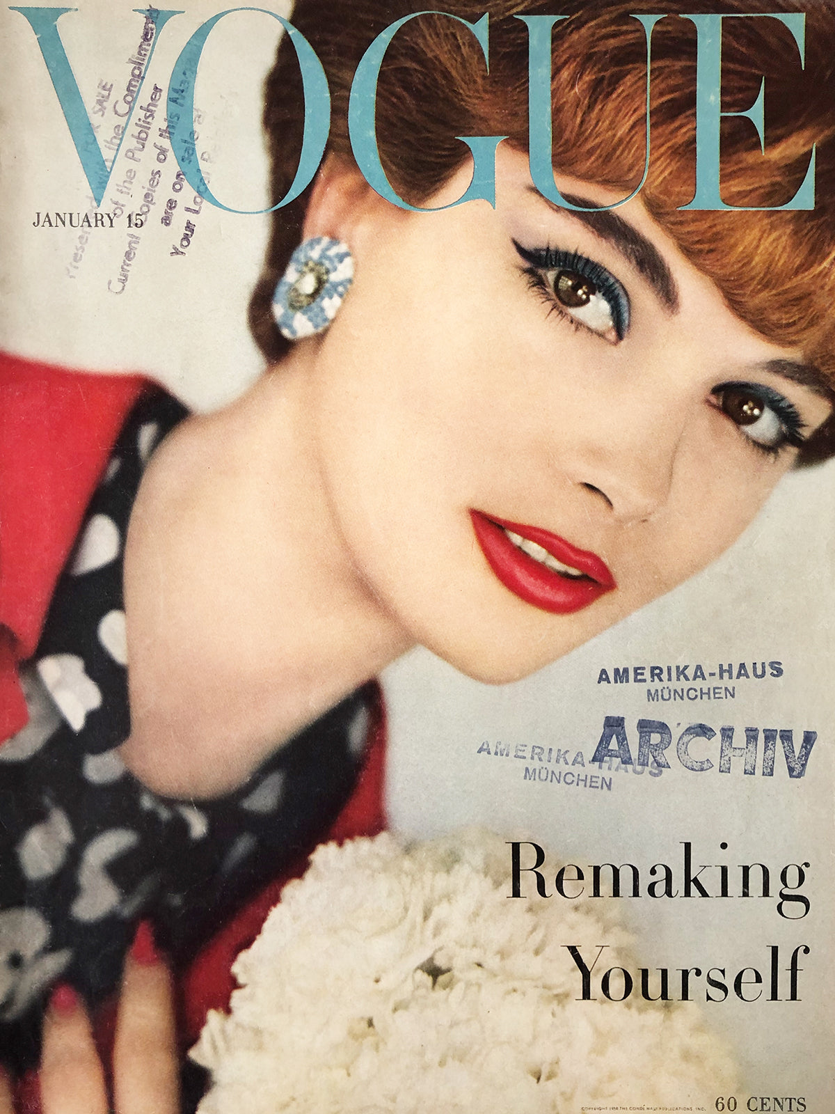 Archived - Vogue US January 15th 1958