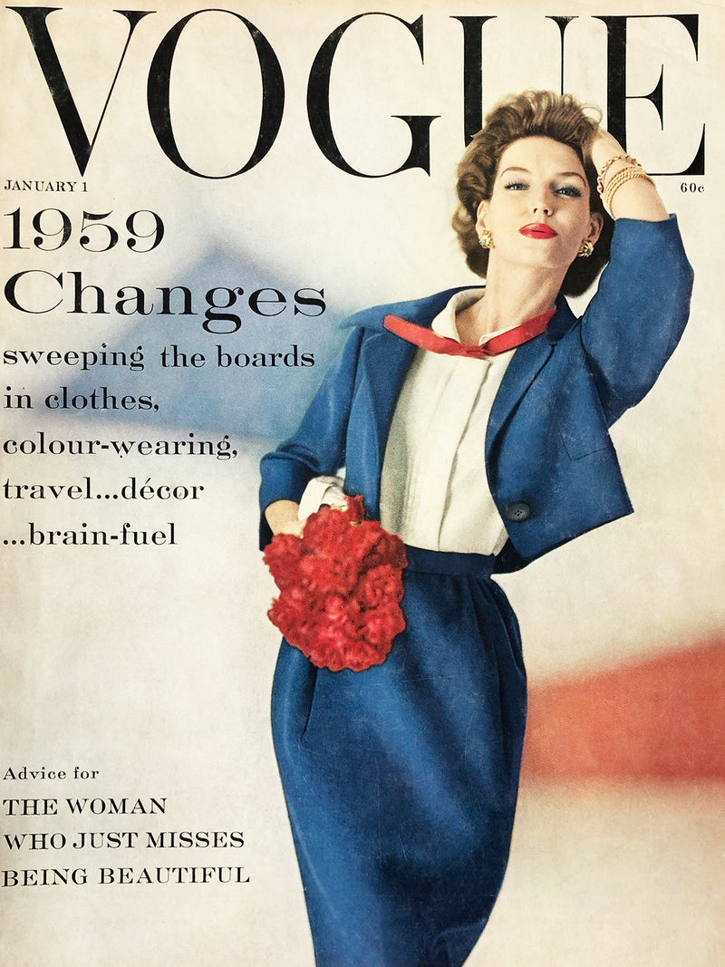 Sold - Vogue US January 1st 1959