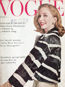 Archived - Vogue US August 15th 1959