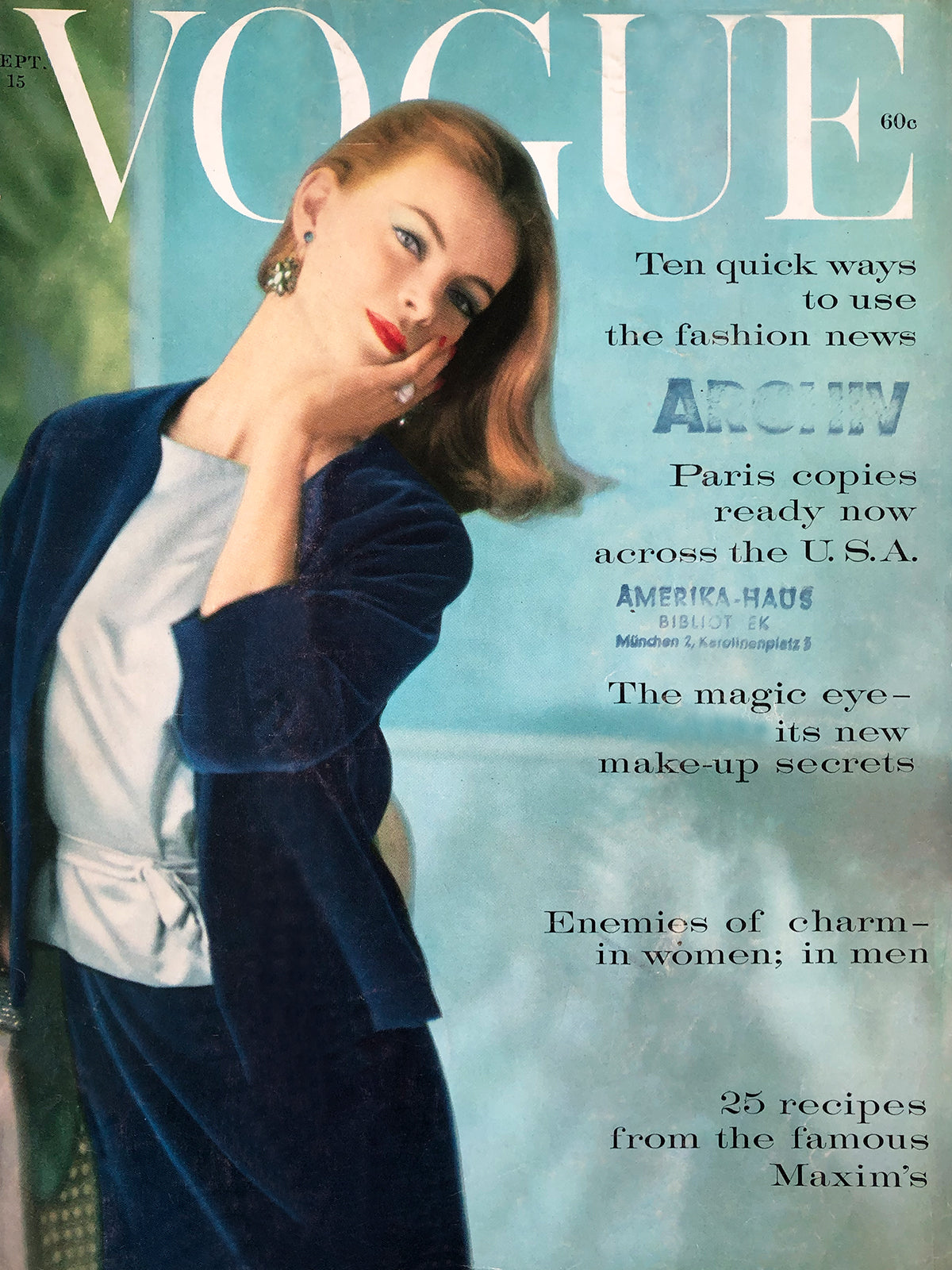 Archived - Vogue US September 15th 1959