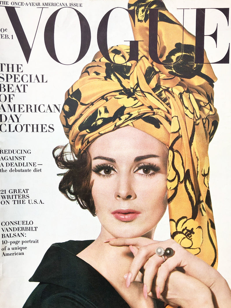 Archived - Vogue US February 1st 1963