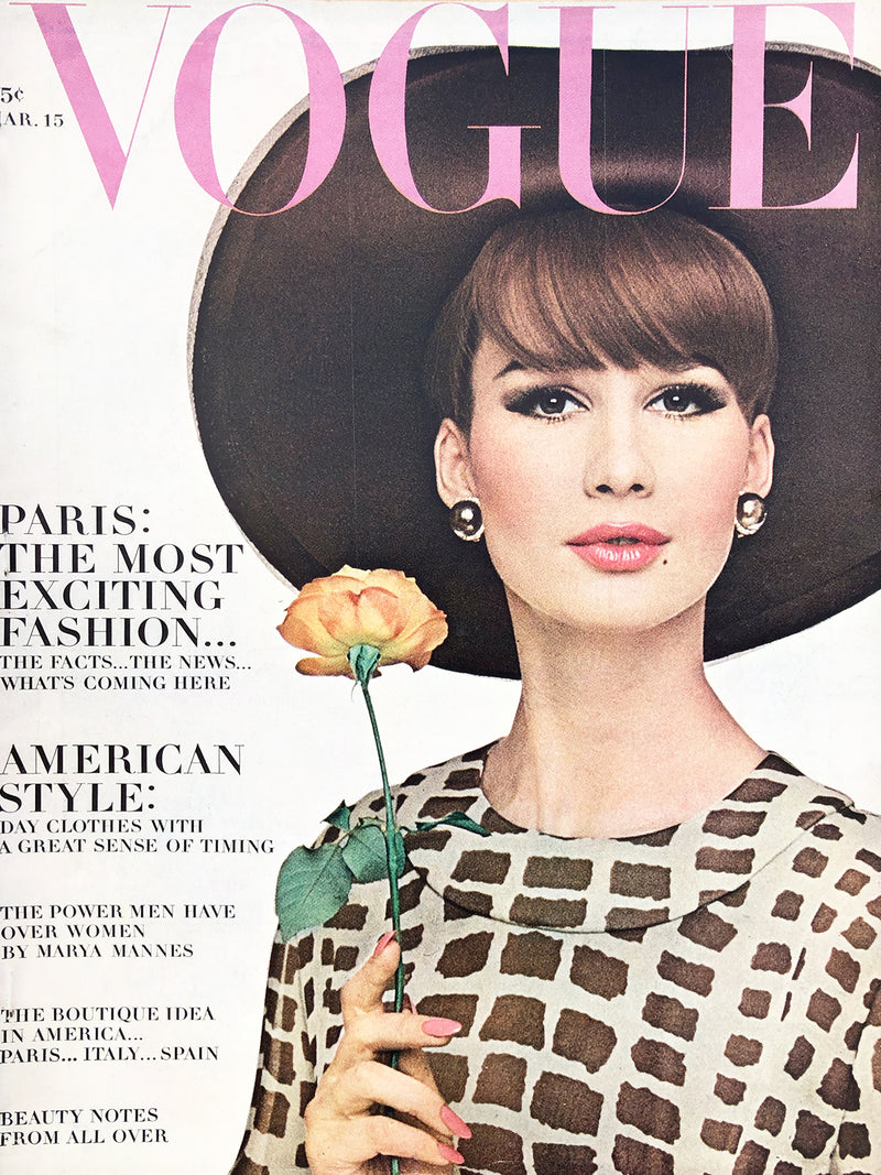 Archived - Vogue US March 15th 1964